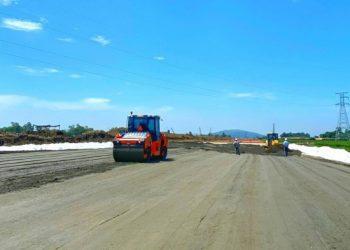 Cao tốc Mai Sơn - QL45 với nút giao cách Bỉm Sơn gần 5km sẽ thúc đẩy phát triển kinh tế của thành phố trong tương lai