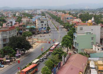 Quốc lộ 1A đi qua Bỉm Sơn là cầu nối giao thương giữa miền Bắc và miền Trung